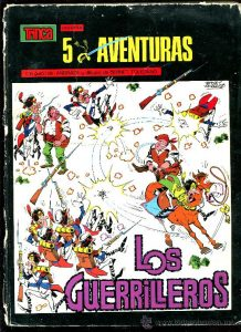 los guerrilleros comic