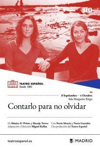 contarlo para no olvidar teatro español