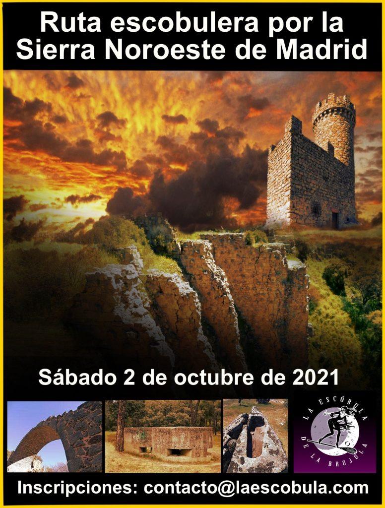 cartel ruta sierra madrid